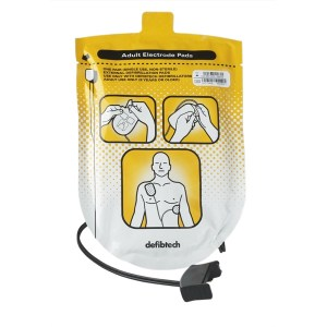 adult defibrillation pads one set for lifeline auto
