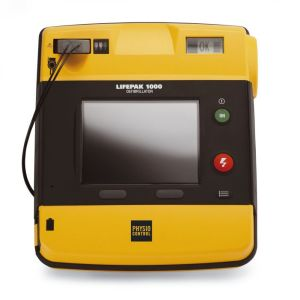 lifepak 1000 semi automatic defibrillator basic graphical display