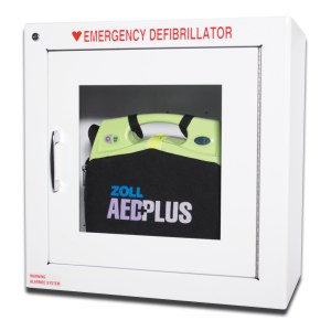 wall cabinet surface mount for zoll AED