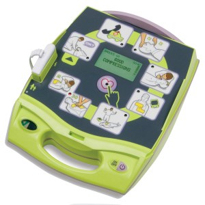 zoll plus fully automatic defibrillator + one set of paediatric pads