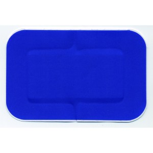 blue plasters 7.5cm x 5cm box of 50