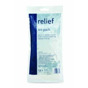 relief plus instant ice packs box of 10