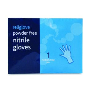 religlove powder free nitrile gloves