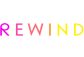 Events we cover and our clients - rewind festival logo