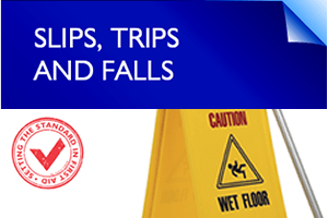first aid tips - slips, trips and falls