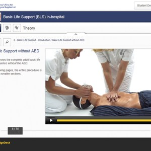 basic life support (BLS) in hospital online course