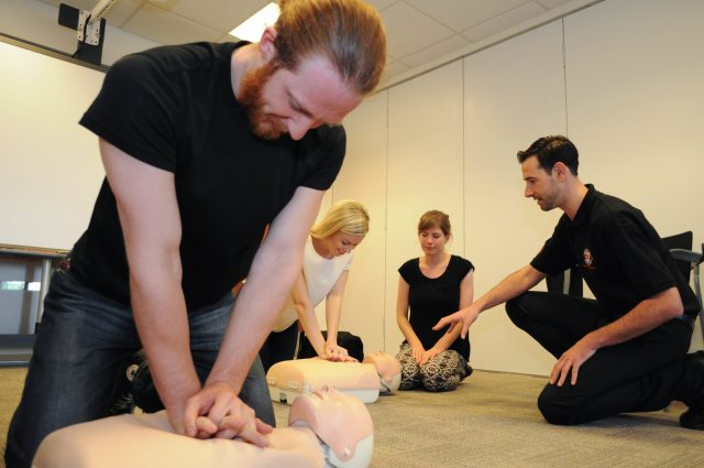 Employers have due diligence to select a HSE approved first aid training provider