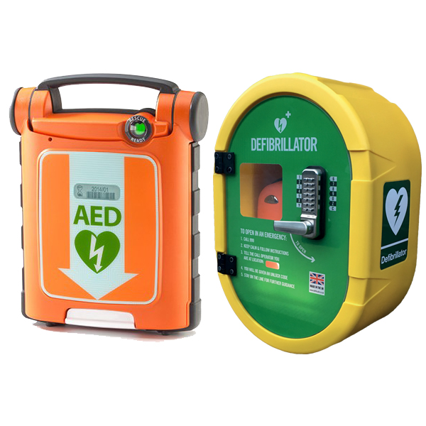 G5 AED and Outdoor Safe