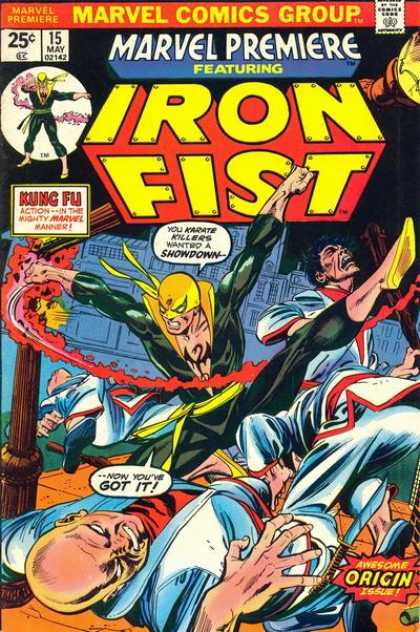 Image result for iron fist first appearance