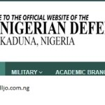 Nigerian Defence Academy 2019 | NDA Form Portal | How To Apply