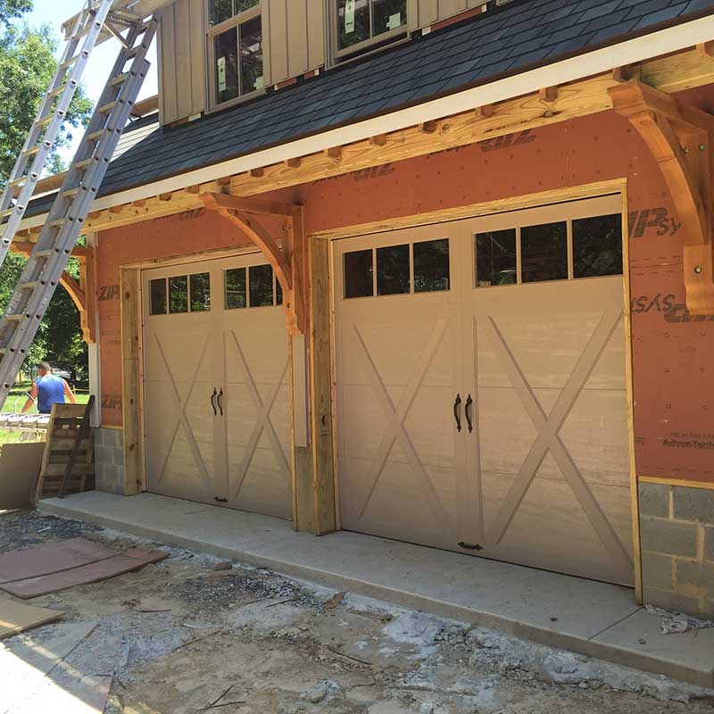 Clopay Coachman Model Garage Doors