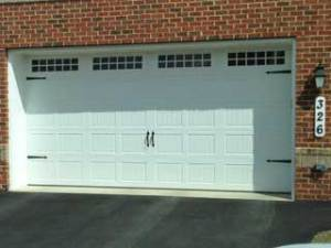 Residential Vinyl Garage Door