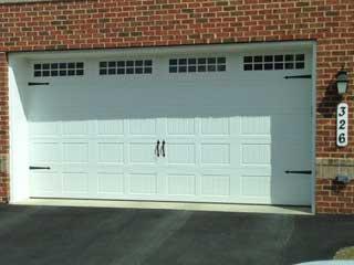 Residential Vinyl Garage Door