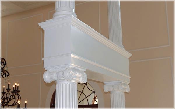 Fiberglass Columns   Round & Square Porch Post Columns