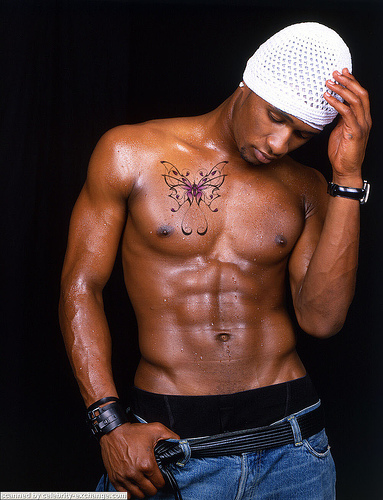 Usher's Butterfly Chest Tattoo. Fans are obsessed with celebrity tattoos.