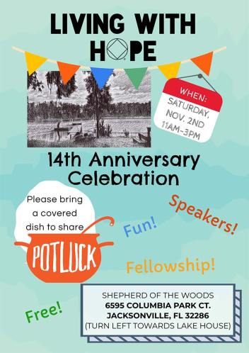 Living with Hope - 14th Anniversary Celebration Potluck