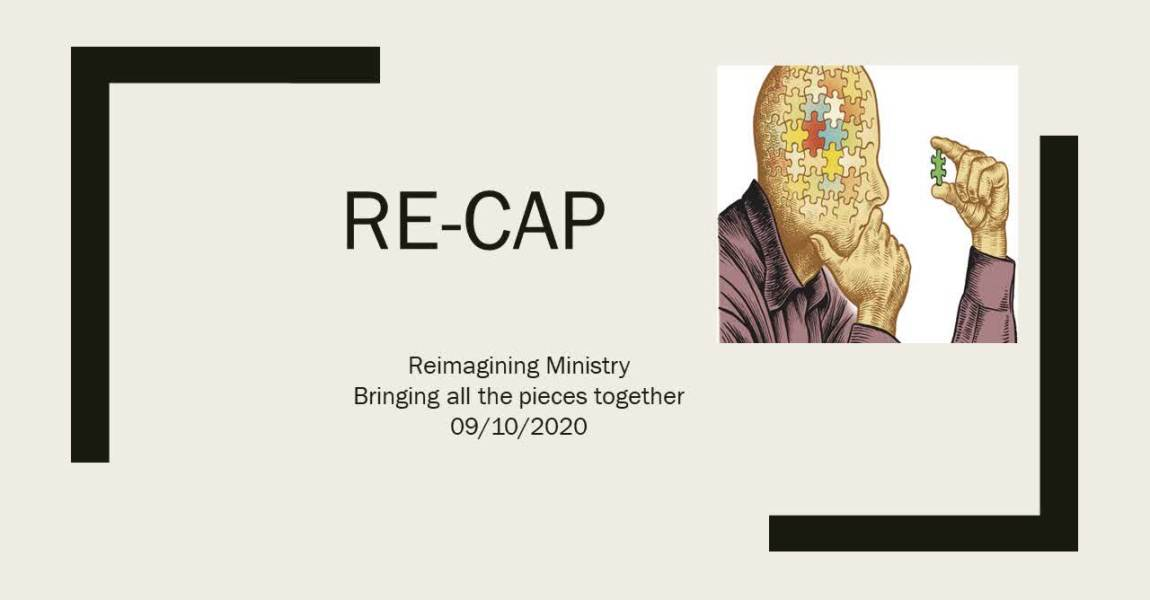 RECAP Re-imagining Ministry