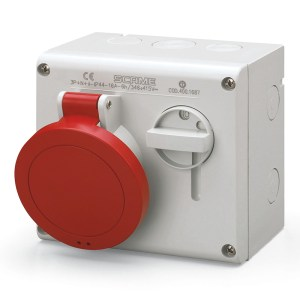 Scame Interlocked Switch Socket Outlets