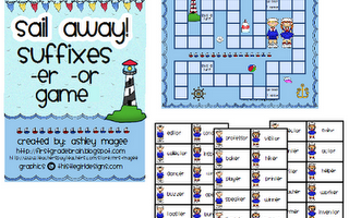 Suffixes -er, -or Game
