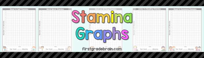 Daily 5 Stamina Graphs Freebie!
