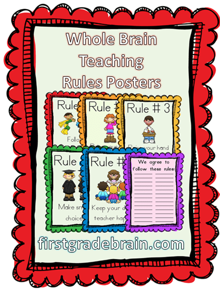 Kinder Garden: Whole Brain Teaching Rules
