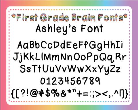 Ashleys Font
