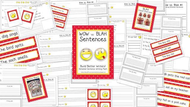 WOW vs Blah Sentences