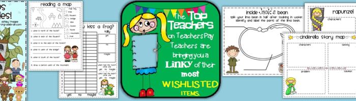 Most Wishlisted on TeachersPayTeachers