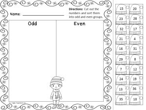 winter math fun freebie