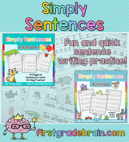 Simply Sentences - Simple Writing Practice