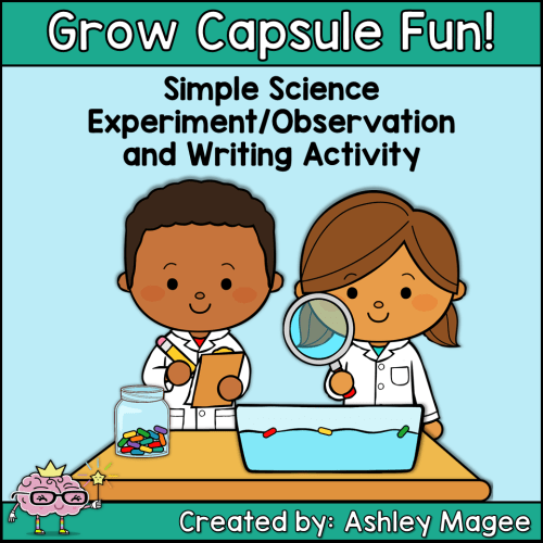 Grow Capsule Writing