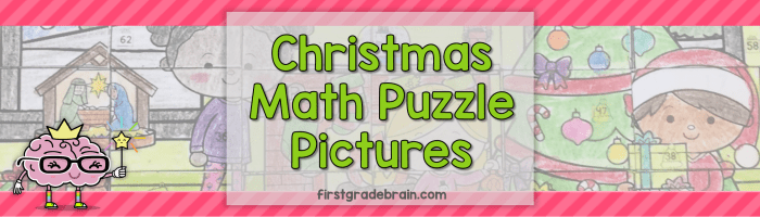 Christmas Math Puzzle Pictures