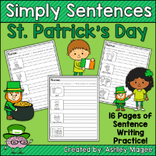 Simply Sentences St. Patrick's Day