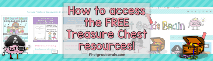 "Need help accessing the ""treasure chest"" freebies?"