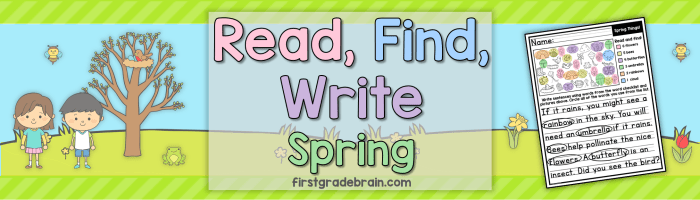 Read, Find, Write Spring