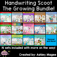 Handwriting Scoot Bundle