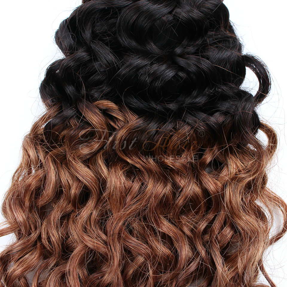 6A Unprocessed Indian Virgin Hair Curly Bundles 16inch
