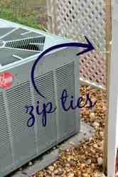 Covering Up An Ac Unit First Home Love Life