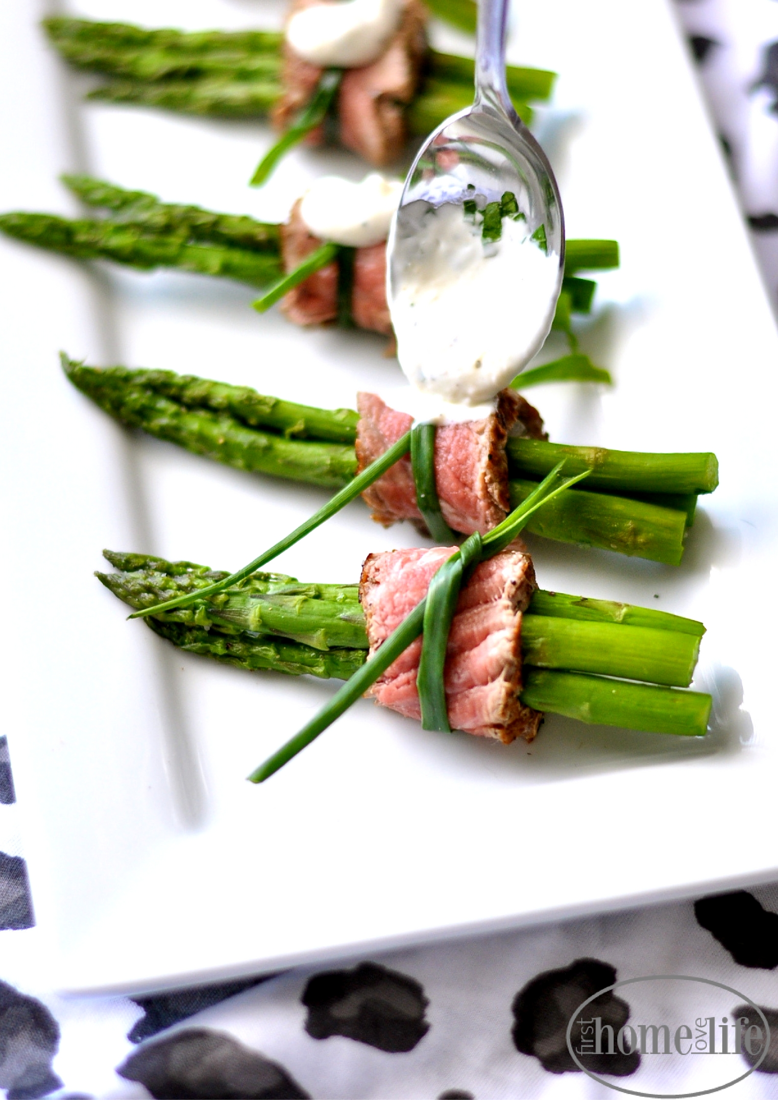Filet Mignon Wrapped Asparagus First Home Love Life
