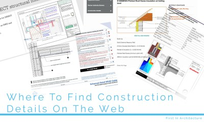 Where To Find Construction Details On The Web