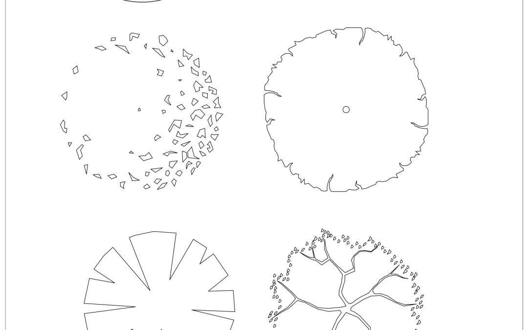 Free CAD Blocks – Trees 01