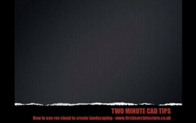 Two Minute Cad Tips – Revcloud – Video