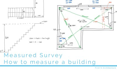 Measured survey – how to measure a building