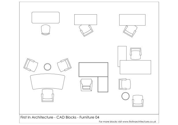 FIA Furniture CAD Blocks 04