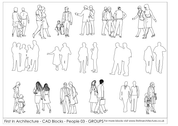 FIA People CAD Blocks 03