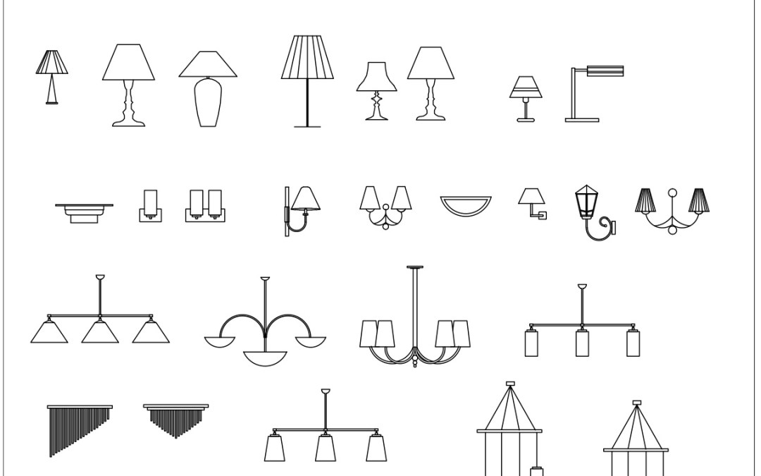 Free CAD Blocks – Lighting