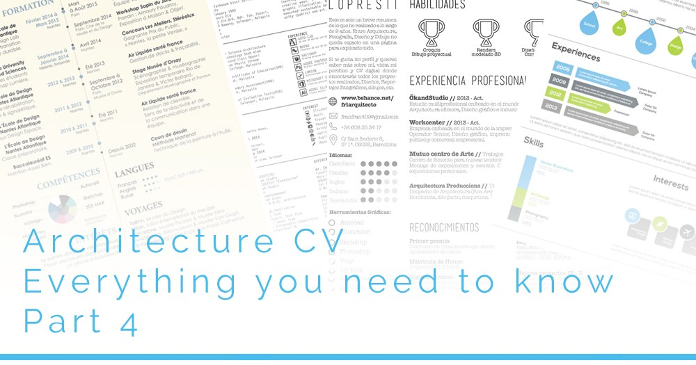 Architecture CV - Everything you need to know