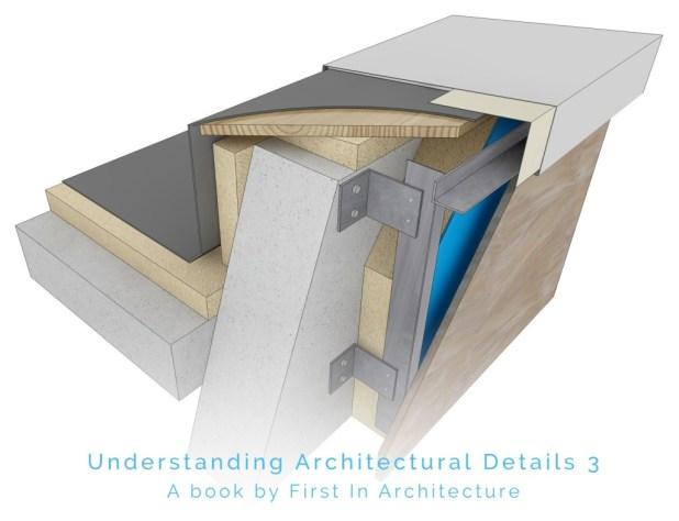 Concrete parapet detail