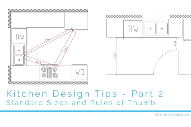 Kitchen Design Tips part 2 - First In Architecture