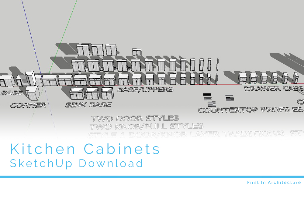 sketchup kitchen components free download